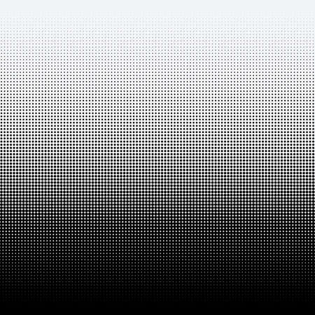 Halftone dots on white background Ilustração