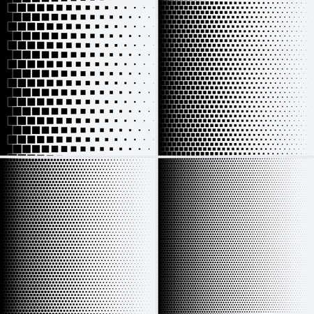 Halftone dots on white background. Vector illustration. Graphic resources halftone black white Illustration