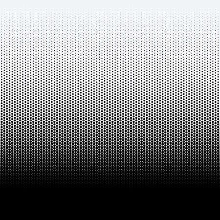 points de trame sur fond blanc. illustration Vecteurs