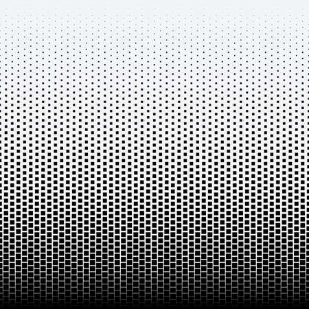 Halftone dots on white background Çizim