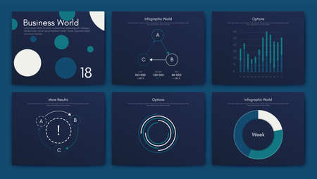Big set of infographics elements. EPS10. Infographic for brochure, web banner