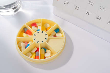 Days of the week pill box  photo
