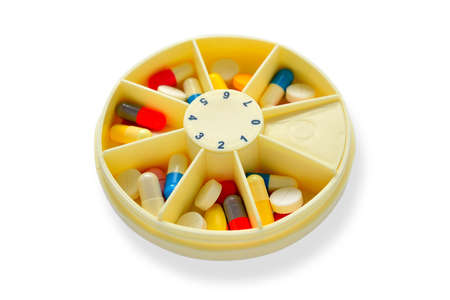 pill box: Days of the week pill box