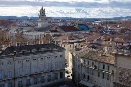 Historic Avignon city center Reklamní fotografie