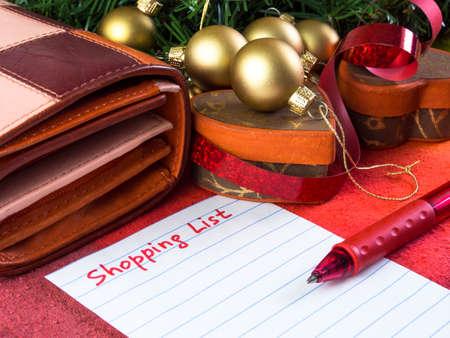 Holiday shopping Reklamní fotografie