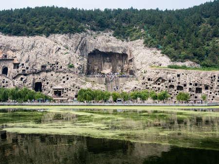 Longmen Grottoes Reklamní fotografie