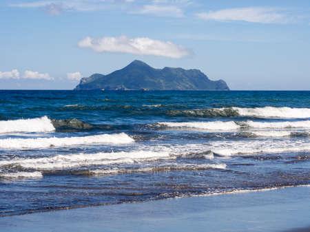 Turtle island from Daxi beach, Taiwan Reklamní fotografie