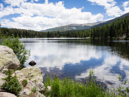 rocky mountain national park: Bear Lake in Rocky Mountain National Park