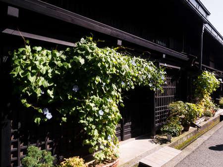 merchant: Traditional Japanese merchant house of Edo period Stock Photo