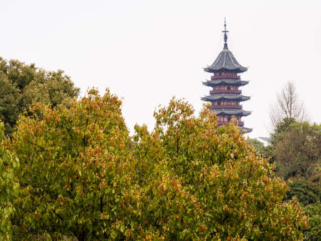 Ruiguang pagoda in Suzhou, China Stock Photo