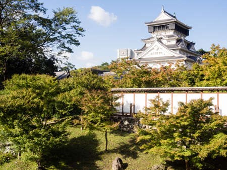 kitakyushu japan october 29 2016 view of kokura castle from a traditional - Traditional Castle 2016