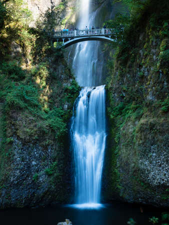 Multnomah Falls in Columbia River Gorge, Oregon, USA