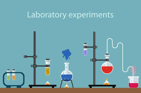 experiment: laboratory experiment Illustration