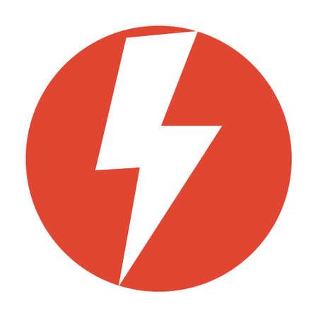 the dazzle: Flash icon Illustration