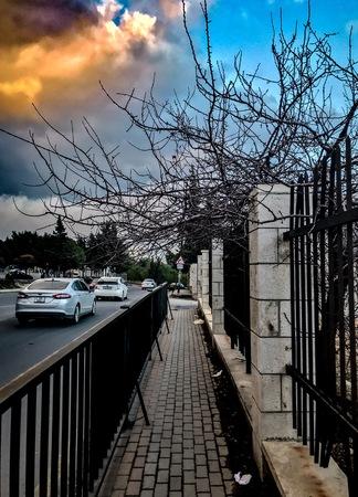 Winter Sunset in Amman