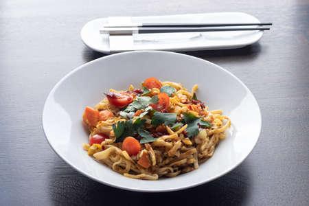 Bami Goreng, Indonesian stir fried noodles