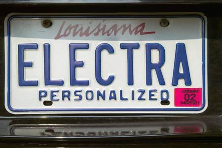 Vanity License Plate - Louisiana