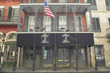 orleans parish: Hotel The Heline in French Quarter of New Orleans, Louisiana
