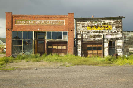 Monida, an abandoned town on border of Montana and Idaho near Monida Pass, Interstate 16