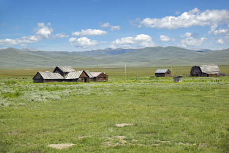 lakeview: Deserted ranch in Centennial Valley, Lakeview, MT