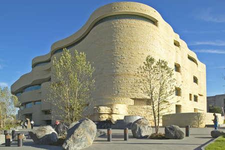National Museum of the American Indian, Smithsonian, in Washington D.C. Banco de Imagens - 19920733