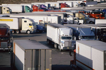 barstow: Super Truck Stop, Barstow, California Editorial