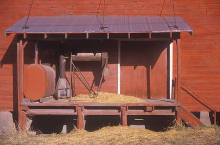 A saw mill in Priest River, Idaho Stock Photo - 19996399