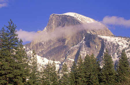 large formation: Large Rock Formation, Yosemite Valley, California