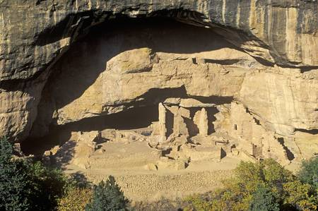 anasazi: Dwellings at Mesa Verde National Park, Colorado