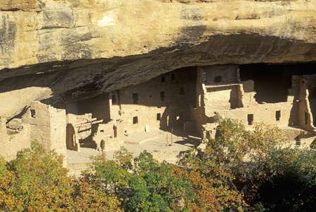 mesa: Dwellings at Mesa Verde National Park, Colorado