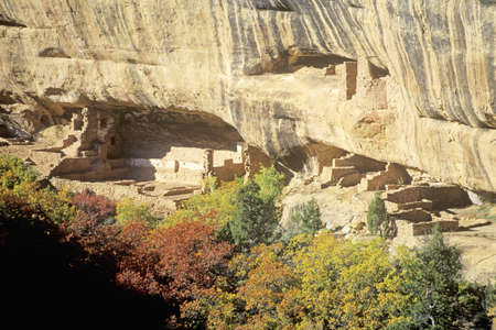 Dwellings at Mesa Verde National Park, Colorado
