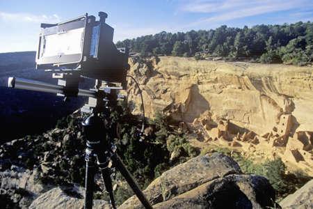 abodes: Camera at Mesa Verde National Park, Colorado