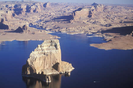 lake powell: Rock Formations, Lake Powell, Page, Arizona Editorial