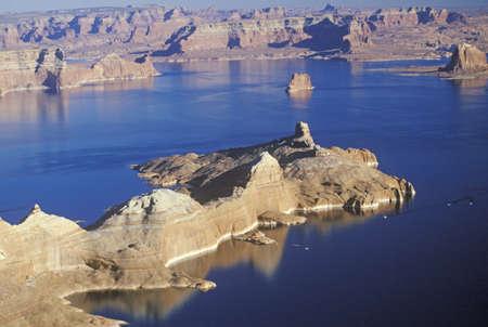 lake powell: Rock Formations, Lake Powell, Page, Arizona Editorial
