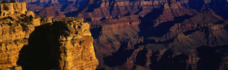 This is Grand Canyon National Park from the south rim viewpoint. photo