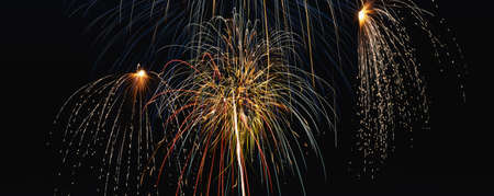These are fireworks that took place over the Albuquerque Balloon Fiesta. Stock fotó - 20487069