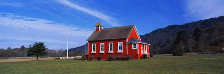 This is the Stone Lagoon School House. It is a one room school house. It is located in Northern California, not far from the Oregon border. Stock Photo - 20474757
