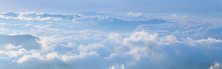 great smoky national park: These are clouds situated over the Great Smoky Mountain National Park.