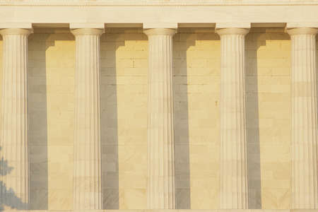 doric: Doric order columns outside of Lincoln Memorial