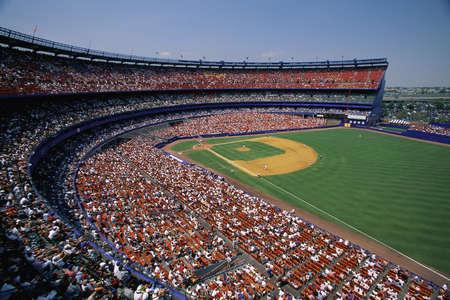 Intérieur du stade de baseball Banque d'images - 20476136