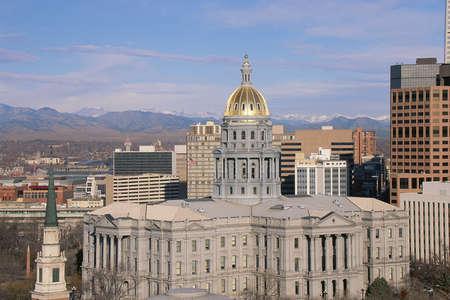 denver co: Edificio del Capitolio de Denver, CO
