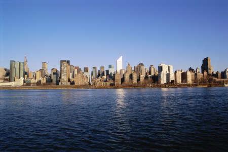 Sprawling New York City skyline Stock Photo