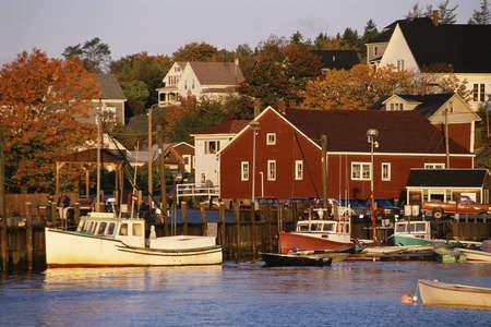 fishing village: Fishing village, Stonington, Vermont