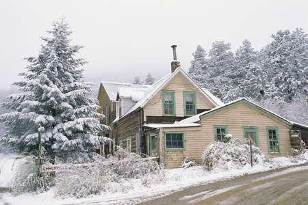 Boulder, Co in winter