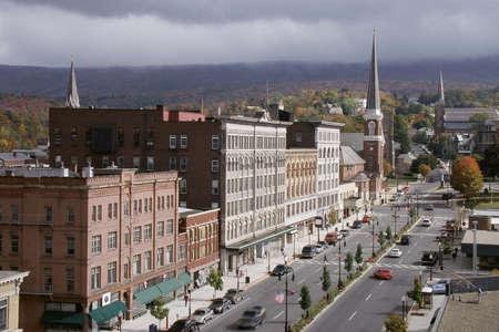 adams: Main Street storefronts in North Adams