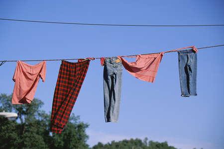 Clothing line photo