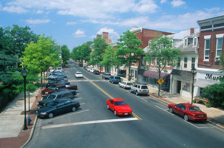 main street: Main Street, Easton, Maryland