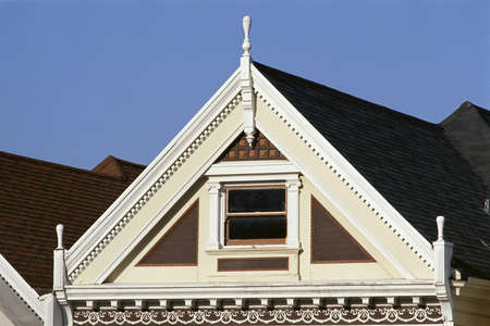 Detail of Victorian home Stock Photo - 20487572