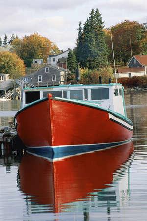 docked: Docked fishing boat