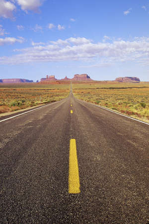 plateau point: Desert road